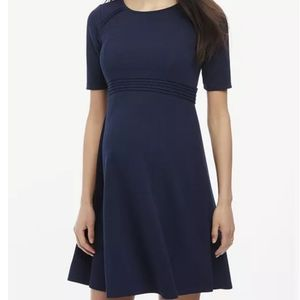 Motherhood Maternity Fit and Flare Dress